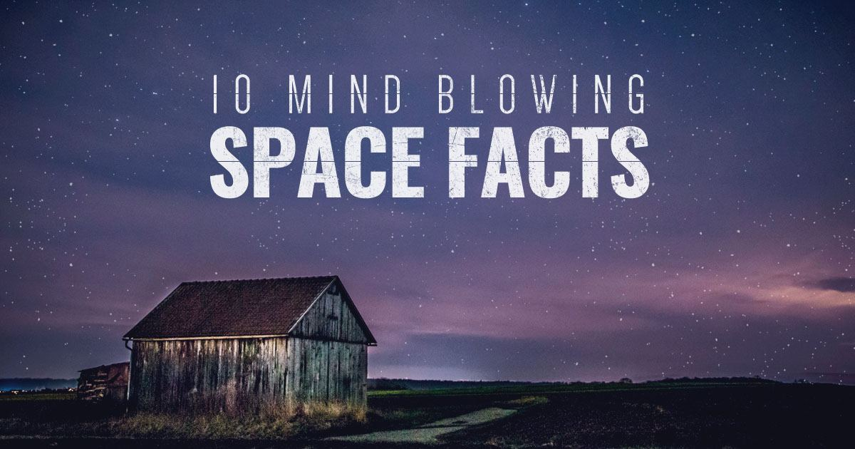 Top 10 Mind Blowing Space Facts by Astronimate
