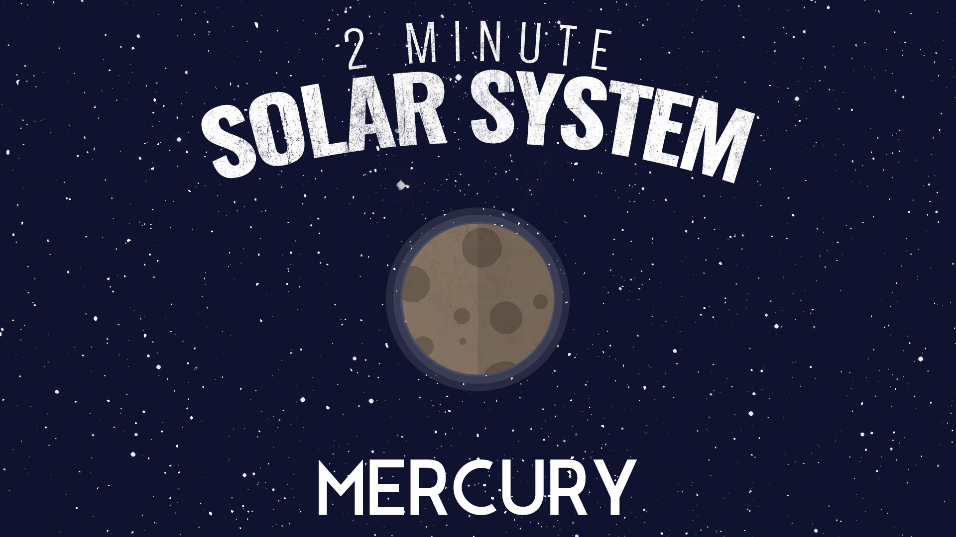 Astronimate's Two Minute Solar System – Episode 01: Mercury
