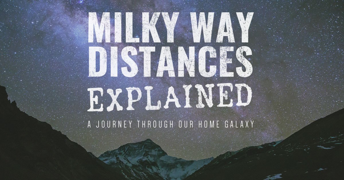 Milky Way Distances Explained: A Voyage Through Our Home Galaxy