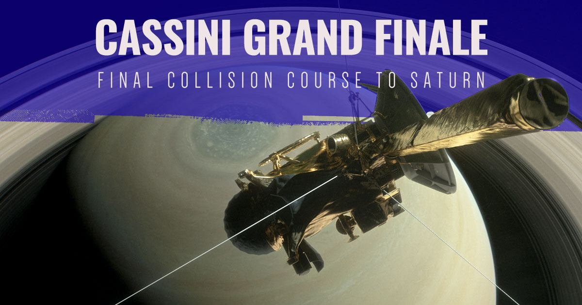 Cassini Grand Finale by Astronimate