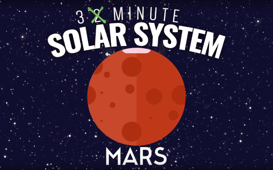 Astronimate's Two Minute Solar System – Episode 04: Mars