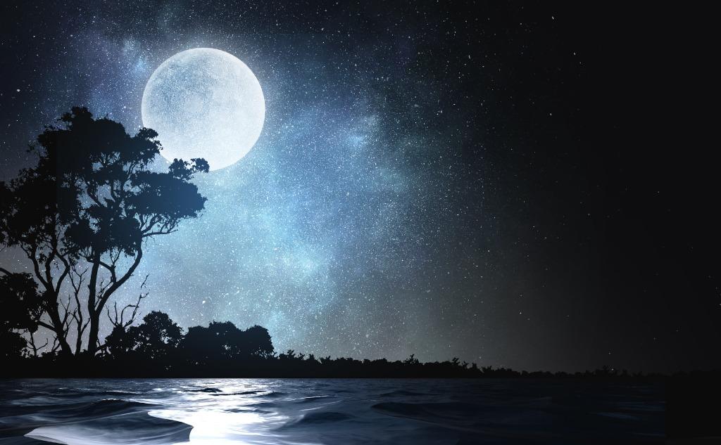 August sturgeon moon.