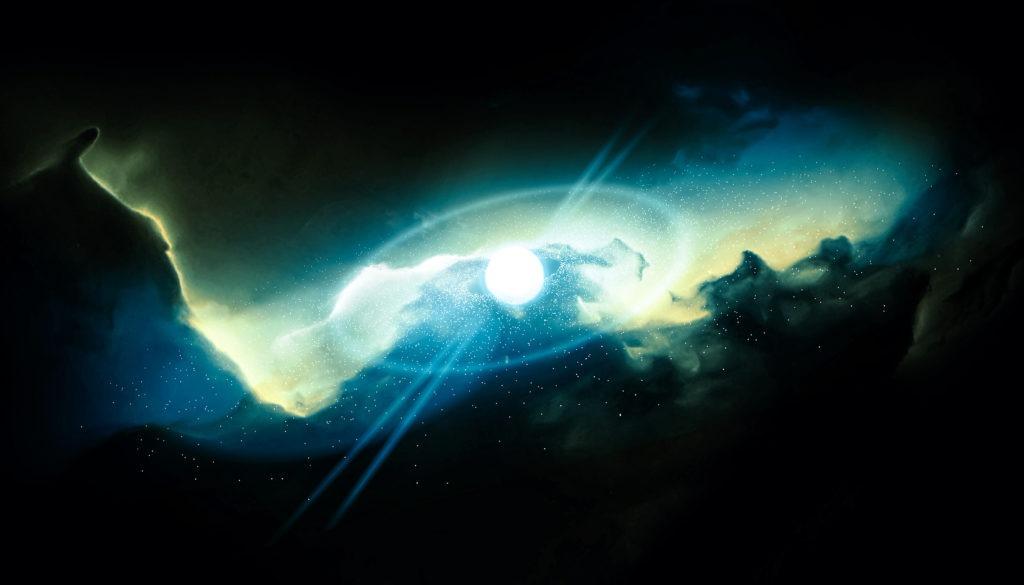 Cosmic microwave background big bang.