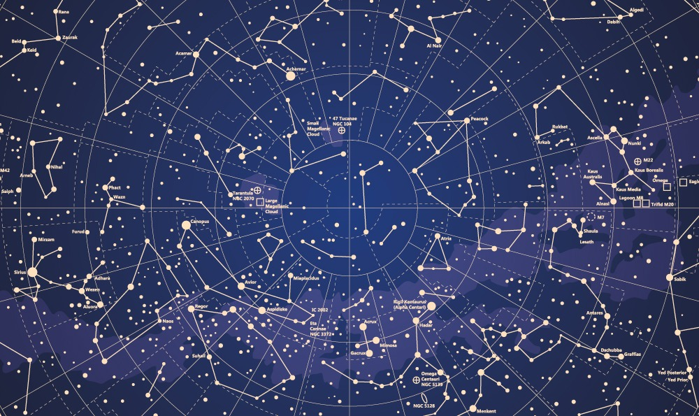 88 Star Constellations COMPLETE (+ Their Names and Meanings).