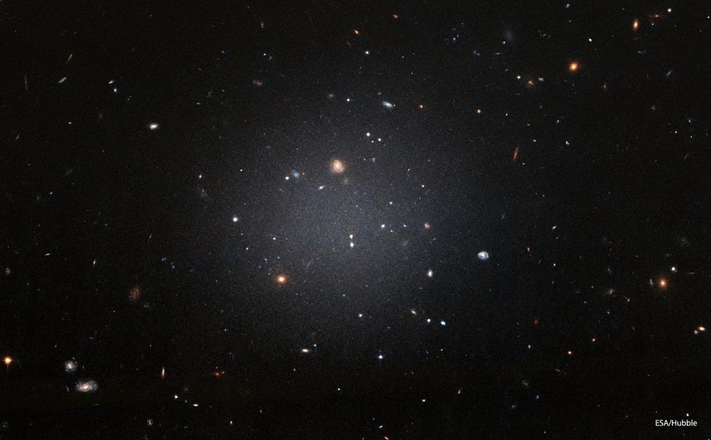 Dragonfly 44 Galaxy - 99.9% Dark Matter.