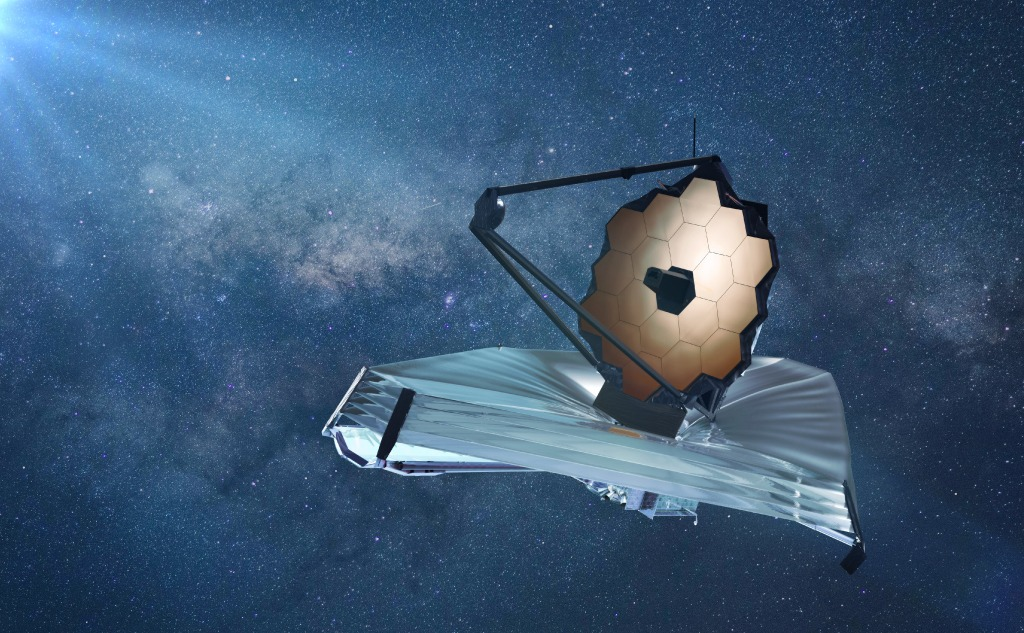 10 Fascinating Facts About he James Webb Space Telescope.