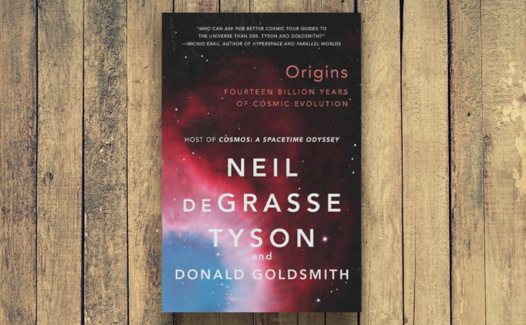 """""""Origins"""" by Neil deGrasse Tyson Book Review."""