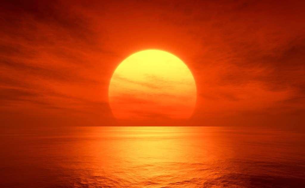 What Does a Red Sun Mean?
