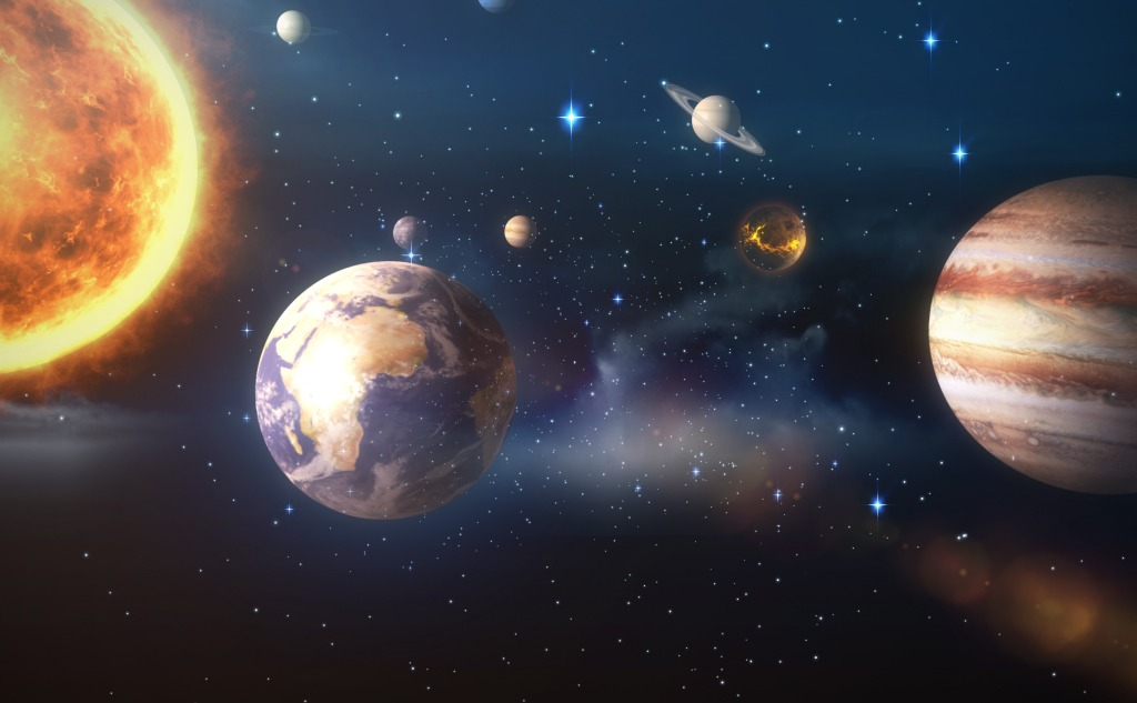 10 Fascinating Facts About the Solar System.