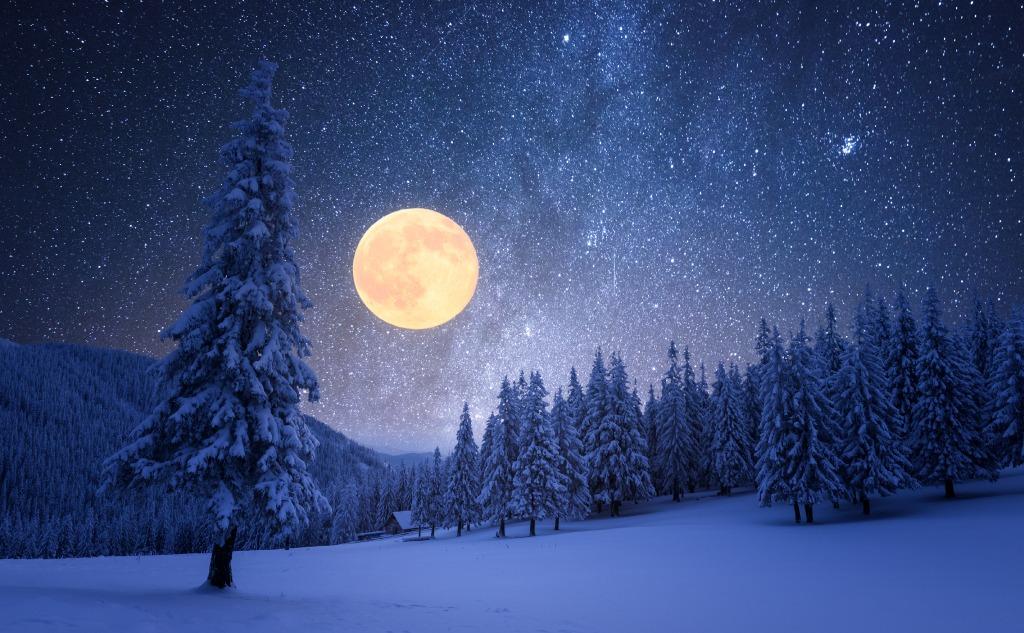 February snow moon.