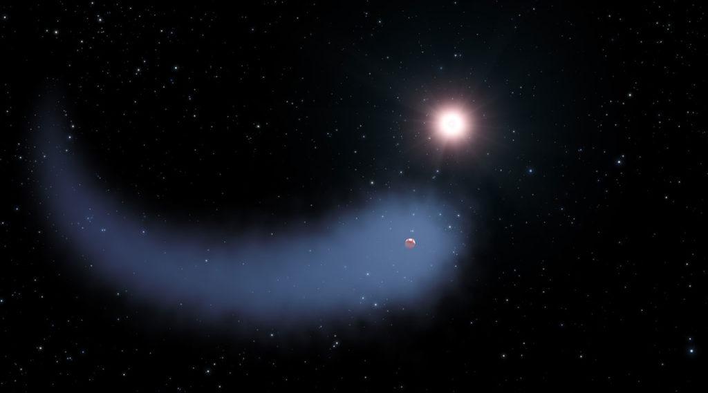 Planet Gliese 436 b.