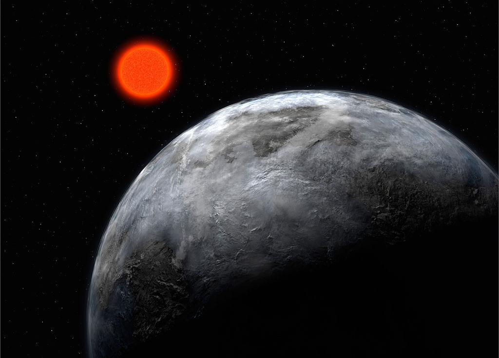 Planet Gliese 581 c.