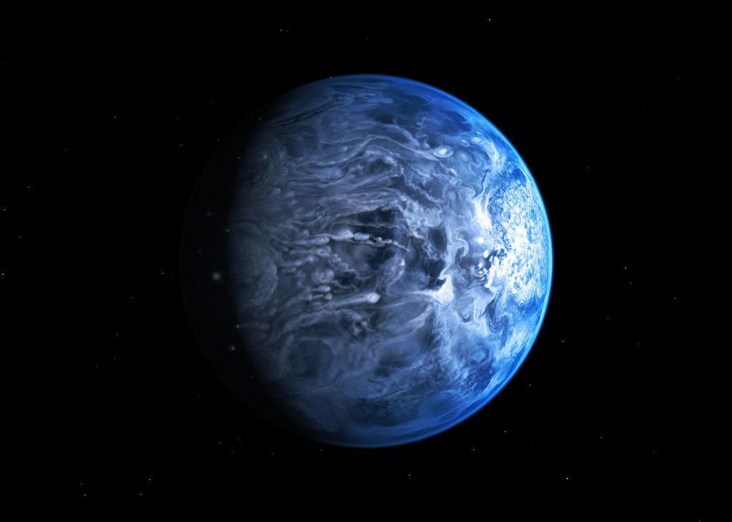 Planet HD 189773 b.