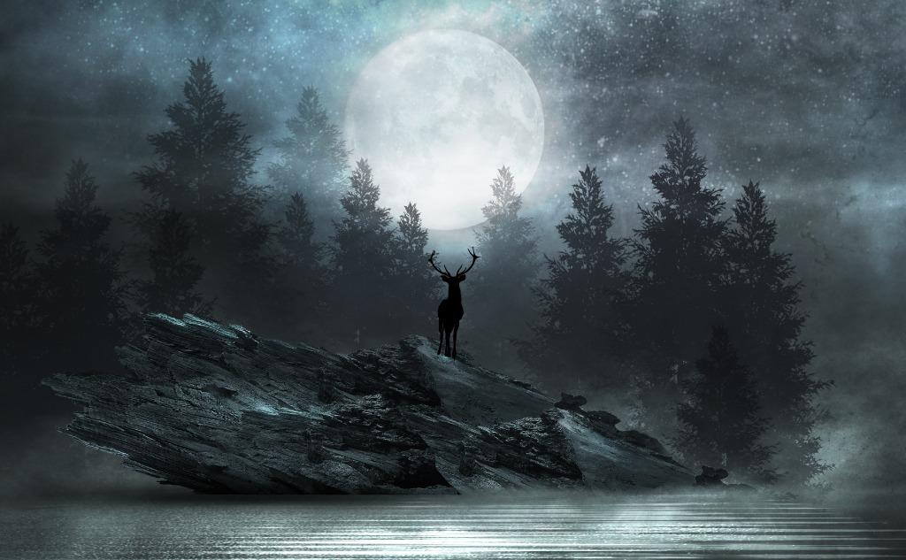 July buck moon.