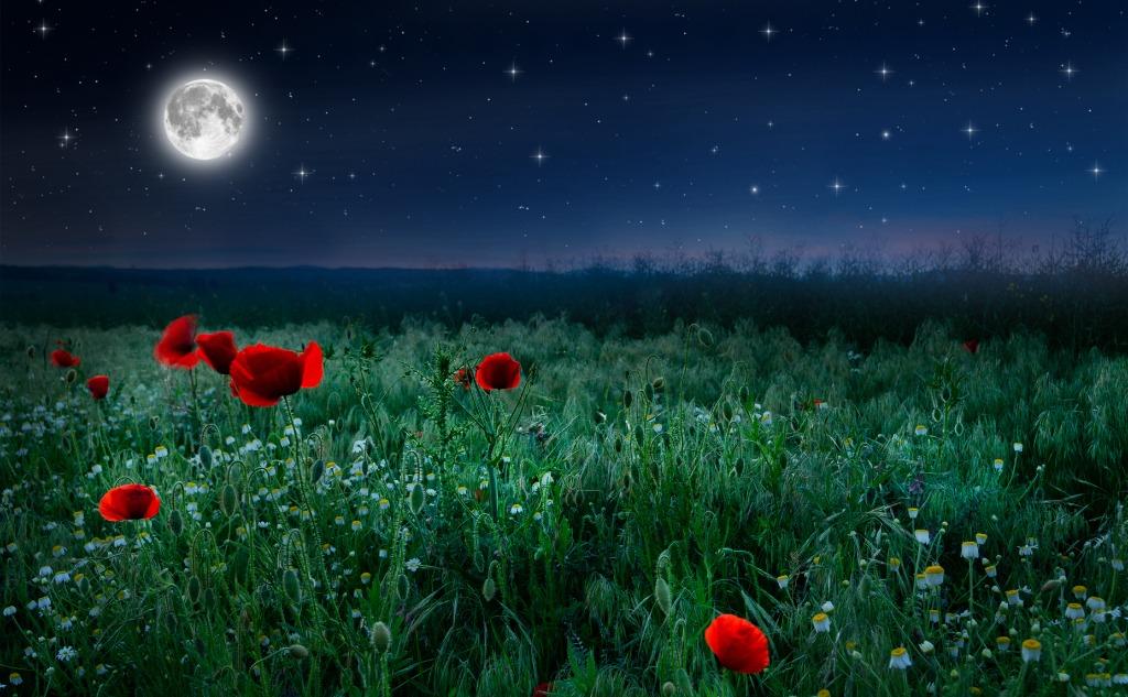 June strawberry moon.