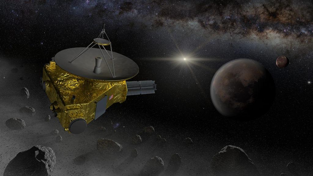 New Horizons space probe fly into Kuiper belt.
