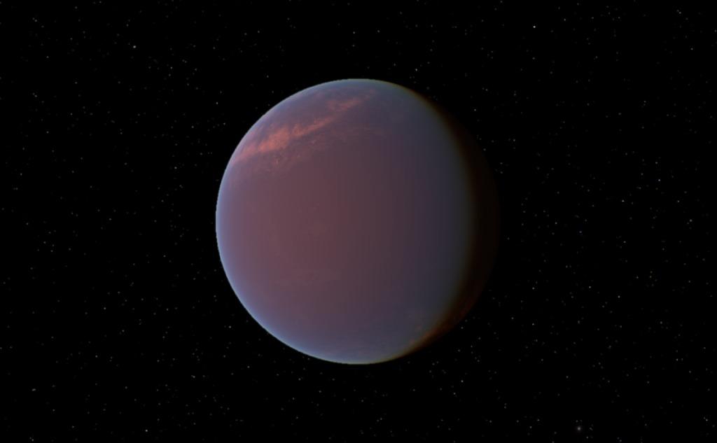 Planet GJ 1214 b.