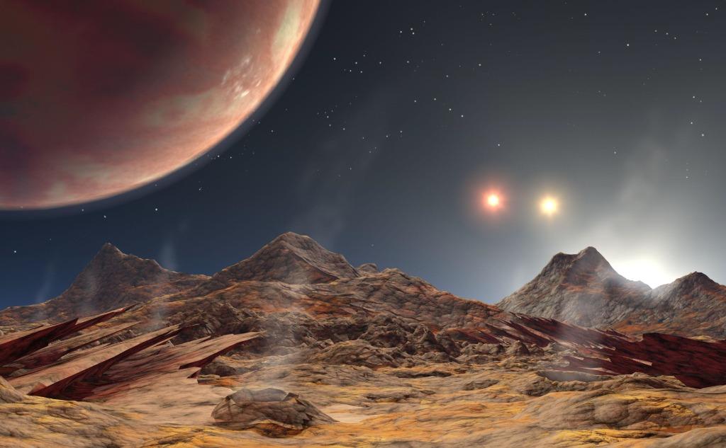 Planet HD 188753 Ab.