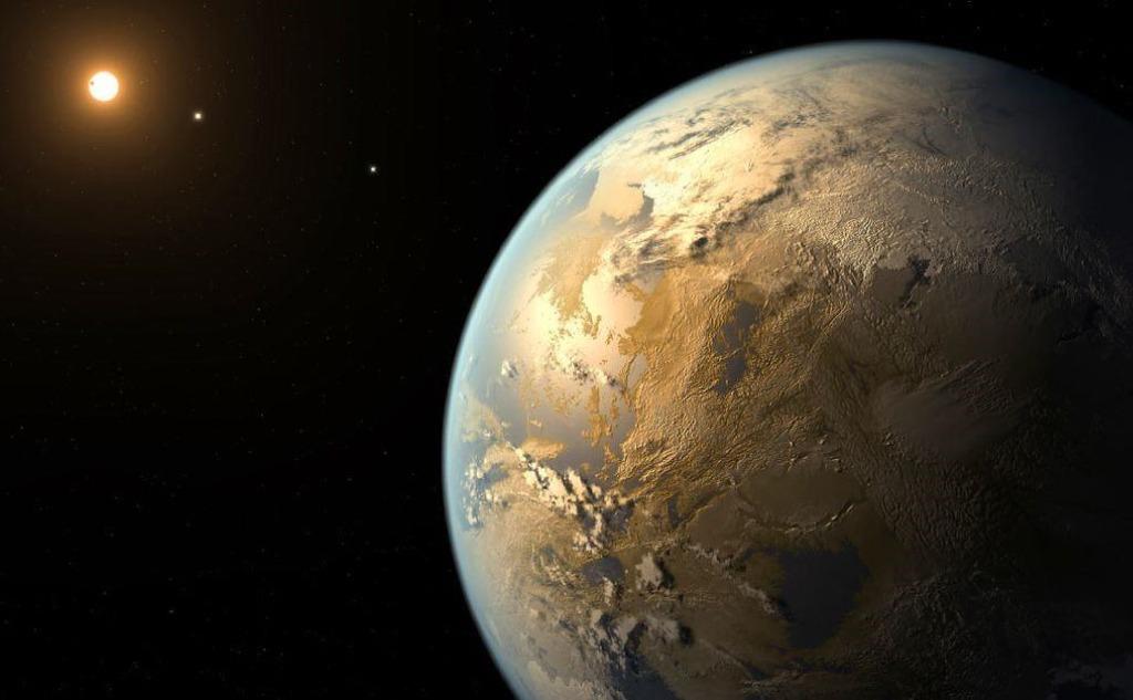Planet Kepler-438b.