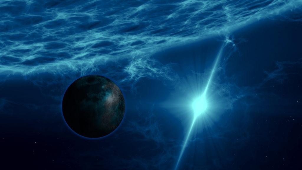 Planet PSR J1719-1438 b.