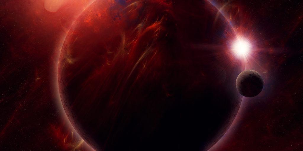 Planet TrES-2b.