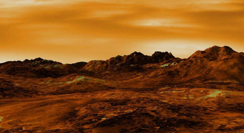 Venus landscape.